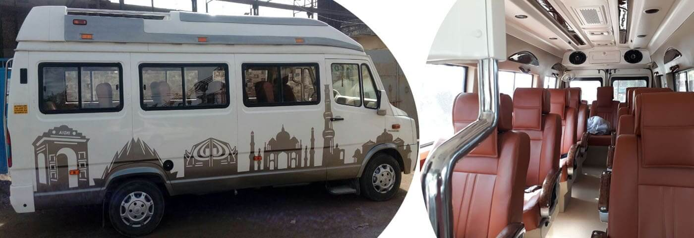Explore Tourist Destination by Tempo Traveller
